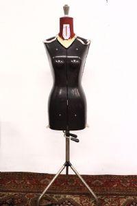 mannequin vintage avec des mesures réglables demi de 900 ancienne mode antique