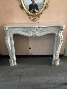exposition Grane des cheminées en marbre et pierre antique