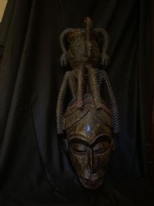 Masque de casque Igbo Nigeria