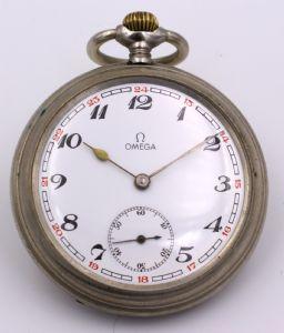 métal montre de poche Omega, début « 900