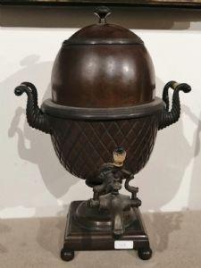 Samovar en cuivre du début du XIXe siècle