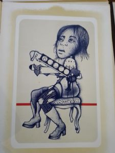 "Giuseppe Guerreschi ""Figures féminines"""