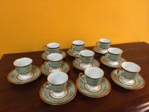 service de café »de 10 tasses allemandes