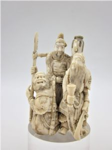 Okimono generale Guan Yu periodo Edo