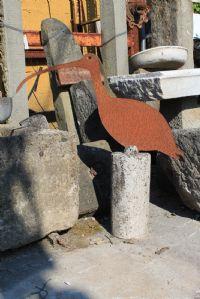 Antico animale in ferro