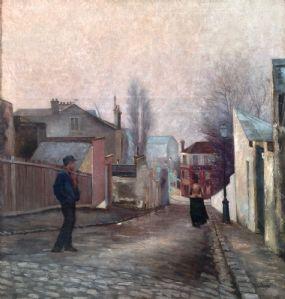 """""""Le passage"""" Depré signé Albert (1861-1937)"""