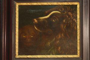 Huile de la peinture flamande sur le panneau 800