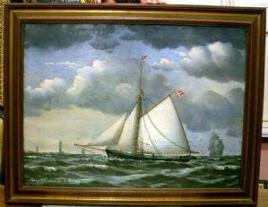 Navigation Tall Ship en 1876