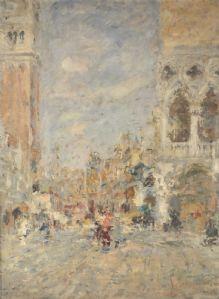 Venise, Piazza San Marco, 1947