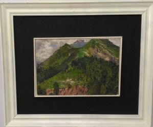 Giuseppe Sauli couple de paysages