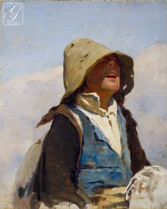 Giovanni Battista Quadrone (Mondovi 1844-Turin, 1898) - Les études préparatoires