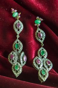 Orecchini indiani in argento