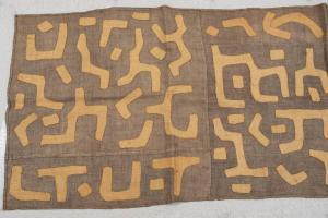 Panneau KUBA africain antique