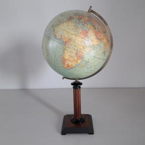Globe terrestre, Dietrich Reimer, 1927
