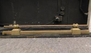 al215 - cendrier simple du XIXe siècle, taille cm 100 xh maximum 12