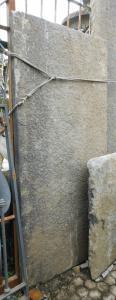 dars426 - pierre de balcon, dim. cm l 202 xh 92 x ép. 7 cm