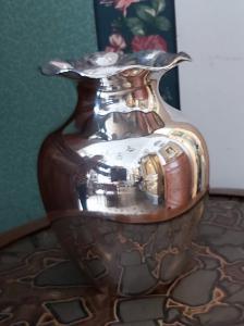 Vase vintage en argent 900