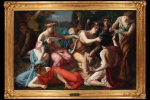Peinture à l'huile sur toile de Jules Joseph Lefebvre