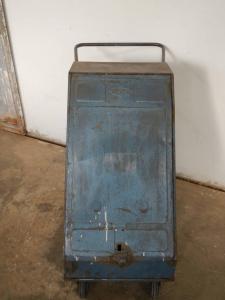 Chariot d'atelier kangourou des années 50
