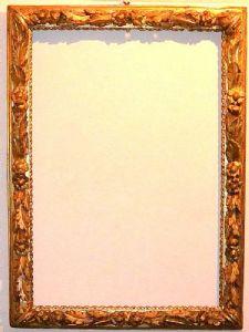 Cadre à la feuille d'or Piémont 18ème siècle