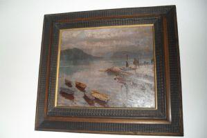 lac avec des bateaux A.Lupo