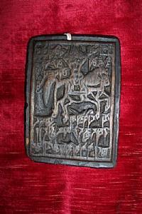 Tibétain matrice en bois