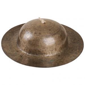 Ancien gong tibétain en bronze