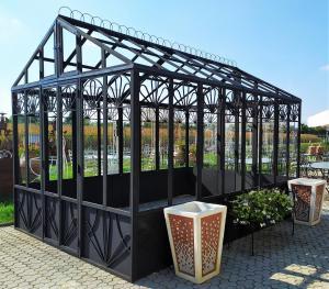 Serra da giardino in ferro battuto 3 x 4 mt