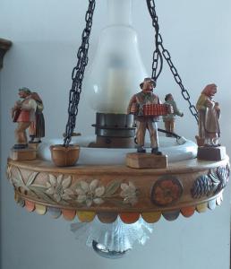 Lampe de Val Gardena des années 50