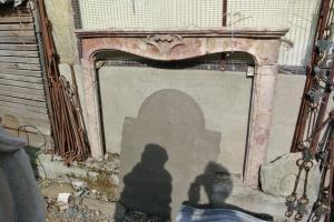 Cheminée ancienne en marbre