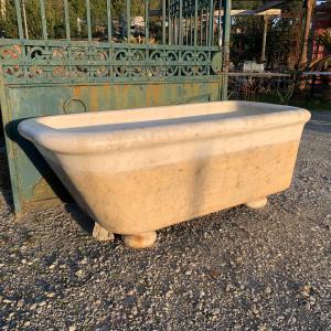 Antica vasca in terracotta smaltata