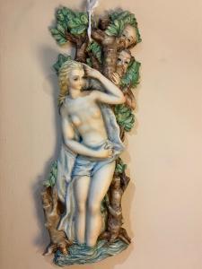 Susanna e i vecchioni Ceramiche artistiche NOVE