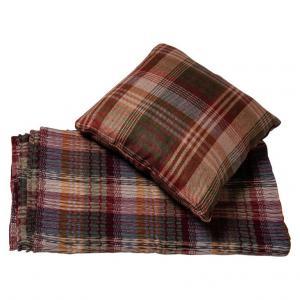 Housse de canapé et coussin en tissu anglais - B / 1742-1743