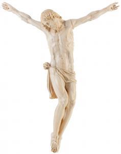 Beau Christ, Ecole Italienne, Ivoire Sculpté, XVIIIe s.
