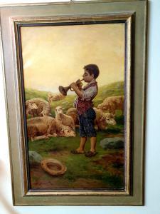 dipinto oilo su tela cm 81 x 50