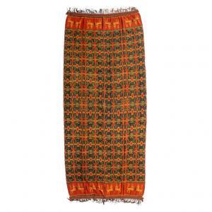Panneau textile indonésien IKAT - B / 1043
