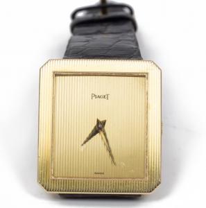 Montre Piaget en or des années 80