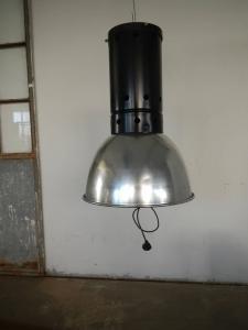 lampe industrielle des années 60