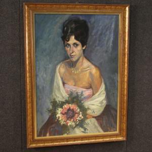 Tableau portrait d'une dame