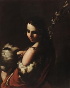 Bartolomeo Schedoni, San Giovannino, huile sur panneau