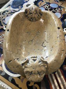 pièce maîtresse marbre 50x35